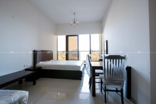 Specious Golf view fully furnished 1BHK apartment for rent in eite 6