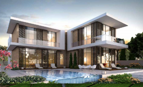 BRAND NEW LUXURIOUS INDEPENDANT  6 BEDROOM VILLA WITH GOLF COURSE VIEW FOR AED 3MILLION AT AKOYA OXYGEN