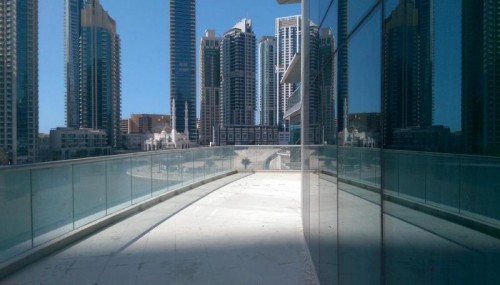 Fully Fitted and Furnished Boutique Office for Sale in Bayside Residence with Breathtaking Views of the Marina!
