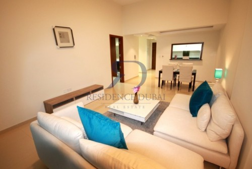 Ready Unique 1 Bed+Maid+Terrace in JVC