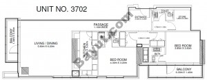 2 Br - Unit 3702 - 37th Floor