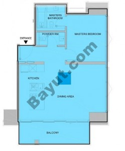 1 Bedroom (Type 4)