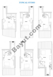 Typical Floor plan Studio