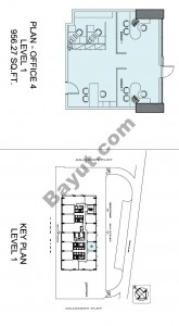 Level 1 Office Plan 4