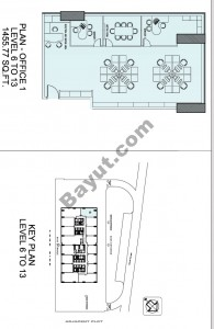 Level (6-13) Office Plan 1