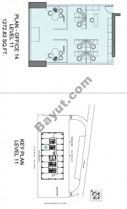 Level 11th Office Plan 14