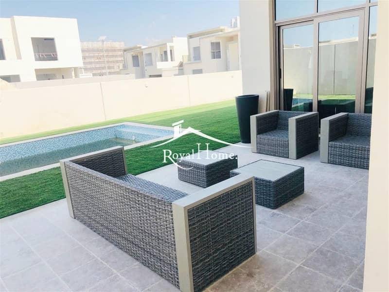 11 Fabulous Brand New | 5 Br + MR Villa In Al Furjan| Vacant
