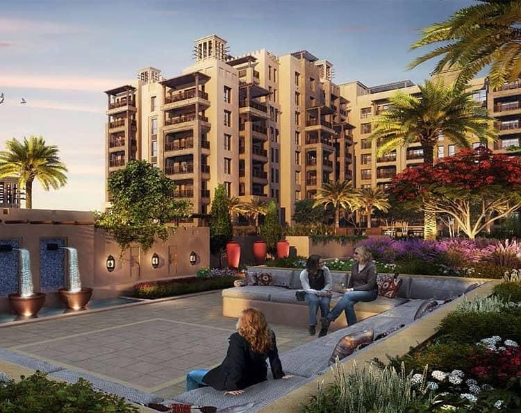 9 Burj Al Arab View 1BR   Bldg 5   Resale @ 1.55M