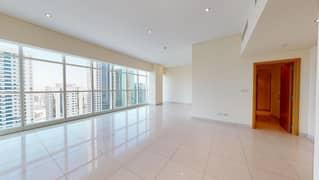 شقة في برج الجدي شارع الشيخ زايد 2 غرف 95000 درهم - 4941675