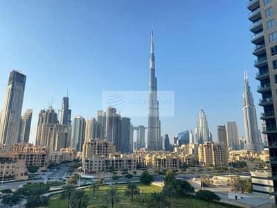 فلیٹ 3 غرف نوم للايجار في وسط مدينة دبي، دبي - Full Burj Khalifa View | Vacant | Chiller Free
