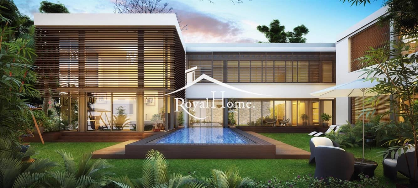 Ready 4 Bhk villa | DT1 |  5 years payment plan