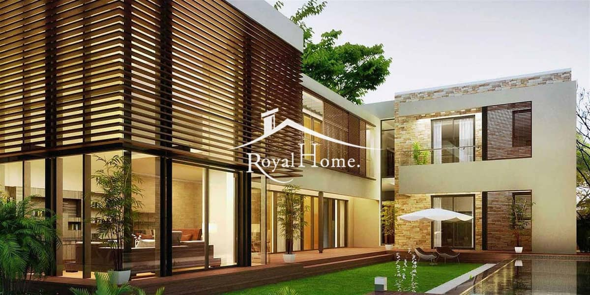 2 Ready 4 Bhk villa | DT1 |  5 years payment plan
