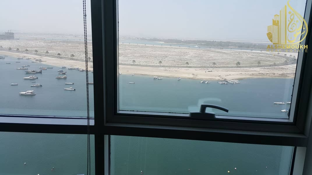 2 1 bed room  Sea view and excellent location in a quiet    tower