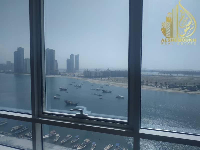 12 1 bed room  Sea view and excellent location in a quiet    tower