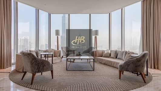 4 Bedroom Penthouse for Sale in Downtown Dubai, Dubai - Ready To Move I Super luxurious Penthouse I 3 Years Post handover Payment Plan