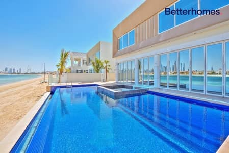 5 Bedroom Villa for Sale in Palm Jumeirah, Dubai - Custom Built | High Number | Skyline View