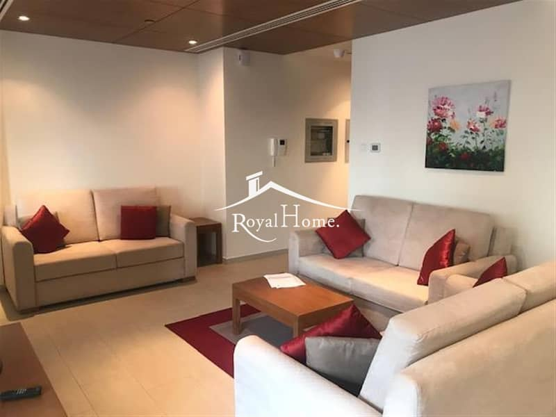Fully furnished 1 Br with partial Golf Course view