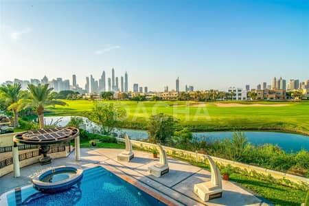 5 Bedroom Villa for Sale in Emirates Hills, Dubai - Panoramic Golf Course & Skyline Views / CALL NOW!