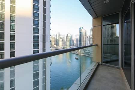 فلیٹ 2 غرفة نوم للايجار في دبي مارينا، دبي - On Mid Floor || 2BR  with Large Balcony || Vacant