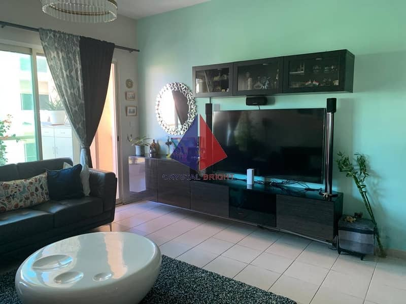 WELL MAINTAINSED RENTED GARDEN VIEW 2BR