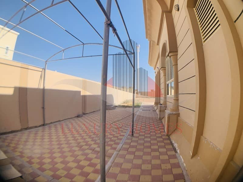 25 Admirable Ground Floor with Huge Yard and Balcony