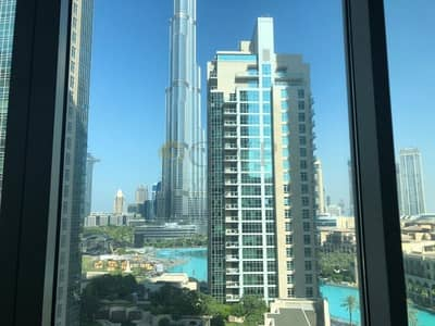 2 Bedroom Flat for Rent in Downtown Dubai, Dubai - BURJ VIEW|CHILLER FREE|VACANT SOON|WELL MAINTAINED