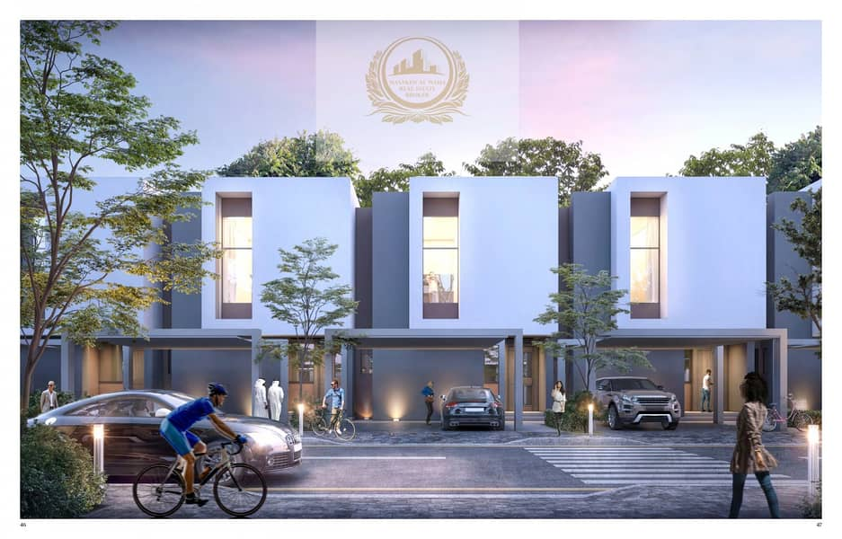 2 3 BR Townhouse in Al Jada for Sale, Sharjah down town