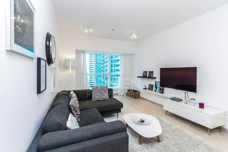 2 Bedroom Flat for Sale in Dubai Marina, Dubai - Cozy Unit | Partial Sea View | Mid floor