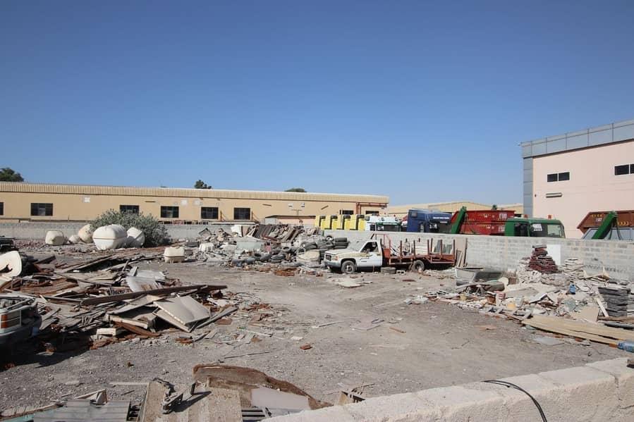 COMMERCIAL LAND FOR RENT   RAS AL KHOR  Size:39944