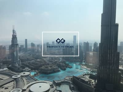 4 Bedroom Flat for Sale in Downtown Dubai, Dubai - Largest | 4-Bed | Burj Khalifa View | Downtown