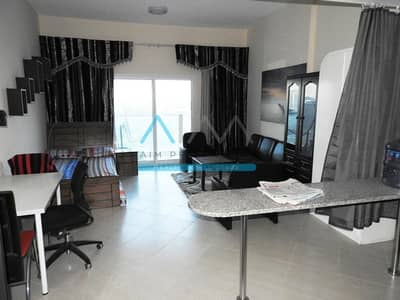 Spacious Fully Furnished Studio With Villa View Available In Best Building