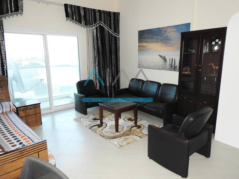 2 Spacious Fully Furnished Studio With Villa View Available In Best Building