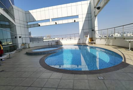 3 Bedroom Flat for Rent in Hamdan Street, Abu Dhabi - Excellent 3 bedrooms with maid, parking, pool and Gym in City
