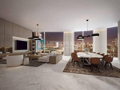 شقة 1 غرفة نوم للبيع في وسط مدينة دبي، دبي - 1 BR with Amazing panoramic view on higher floor