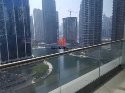 شقة 1 غرفة نوم للايجار في أبراج بحيرات الجميرا، دبي - Partial Lake View | 1 Bedroom + Study| JLT