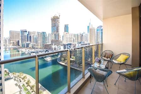 1 Bedroom Apartment for Sale in Dubai Marina, Dubai - Vacant On Transfer | Great Marina Views