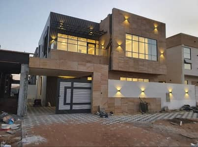 brand new modern style villa for sale in ajman al yasmeen 5 bedroom majlis hall kitchen with car parking very special location