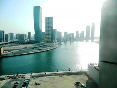مکتب  للايجار في الخليج التجاري، دبي - High floor|Open Layout | Sun drenched|Canal view
