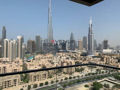 شقة 3 غرف نوم للايجار في وسط مدينة دبي، دبي - Burj View | High Floor | Unfurnished