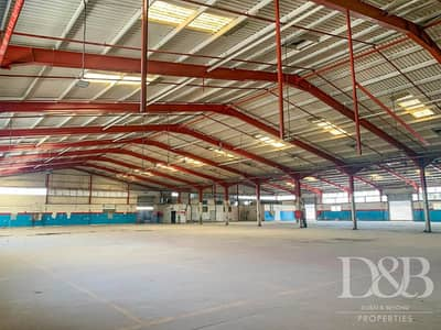 Warehouse for Rent in Al Khabisi, Dubai - High Power Warehouse for Lease | Must See