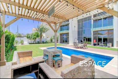 4 Bedroom Villa for Rent in Mohammed Bin Rashid City, Dubai - New to Market | Large Luxury | Landscaped | Contemporary