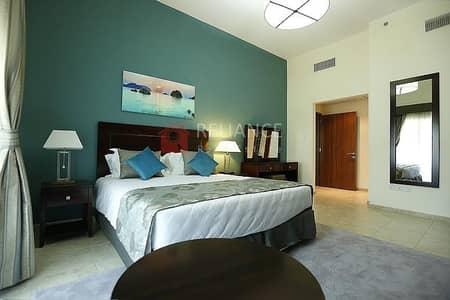 شقة 1 غرفة نوم للايجار في مثلث قرية الجميرا (JVT)، دبي - Fully Equipped Kitchen |Pool View | Middle Unit |1BR+Blcny