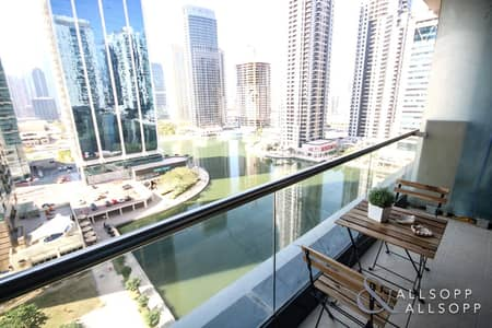 1 Bedroom Apartment for Rent in Jumeirah Lake Towers (JLT), Dubai - 1 Bed | Exquisitely Furnished | Lake Views