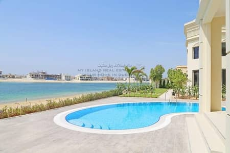 7 Bedroom Villa for Sale in Palm Jebel Ali, Dubai - Vacant Now - High Number Refurbished Signature Villa