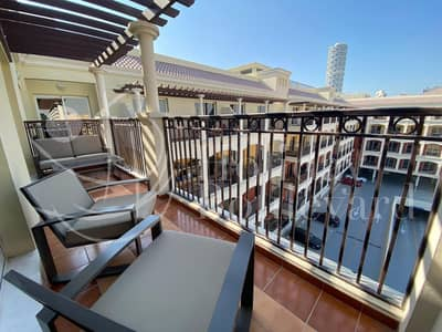 1 Bedroom Apartment for Rent in Jumeirah Village Circle (JVC), Dubai - HOT DEAL/LUXURIOUS 1BED ROOM APARTMENT/FULLY FURNISHED/INTERNET TV/BALCONY