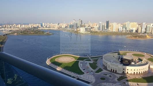 فلیٹ 3 غرف نوم للبيع في المجاز، الشارقة - Hot deal with 4 balconies on Khaled lake