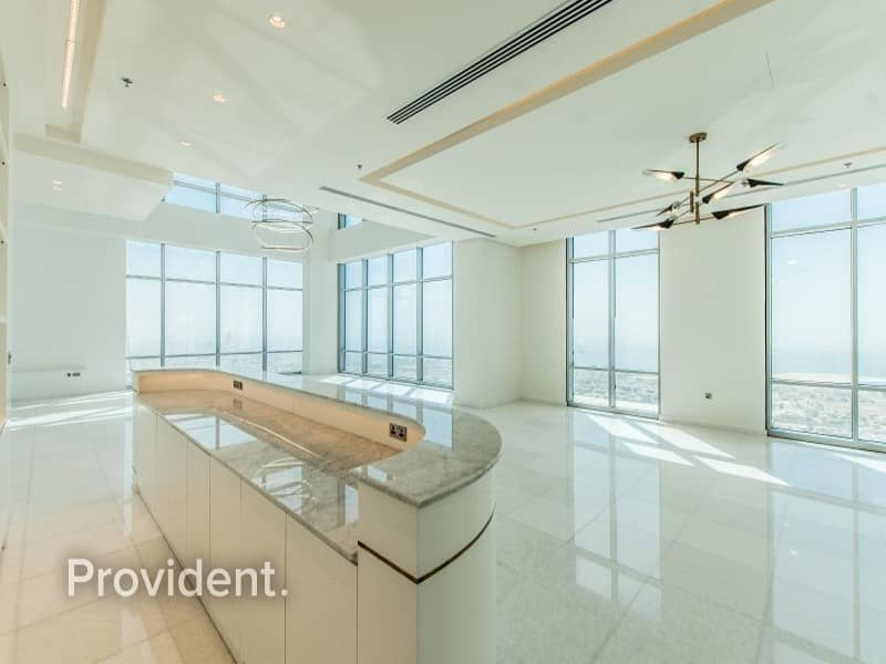 2 Most Luxurious Penthouse in Dubai | Panoramic View