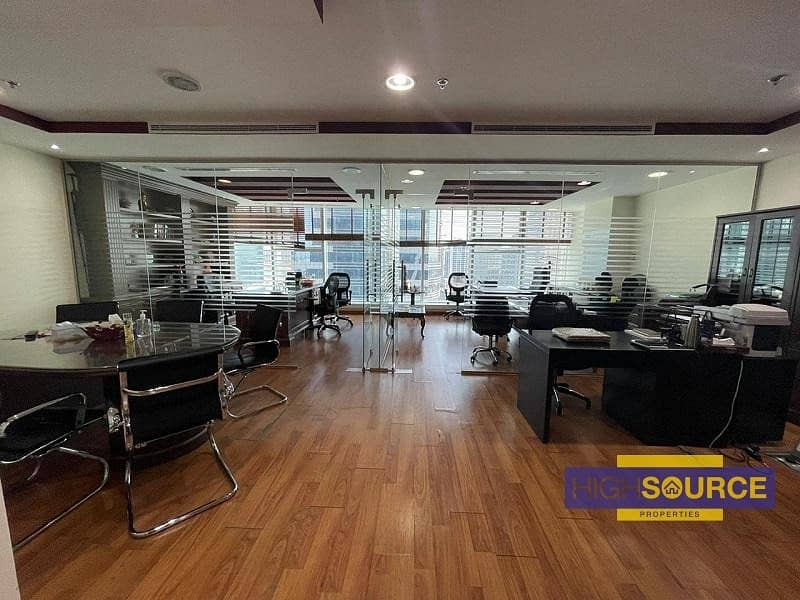 Fully fitted large office | amazing view | Near Metro Station |