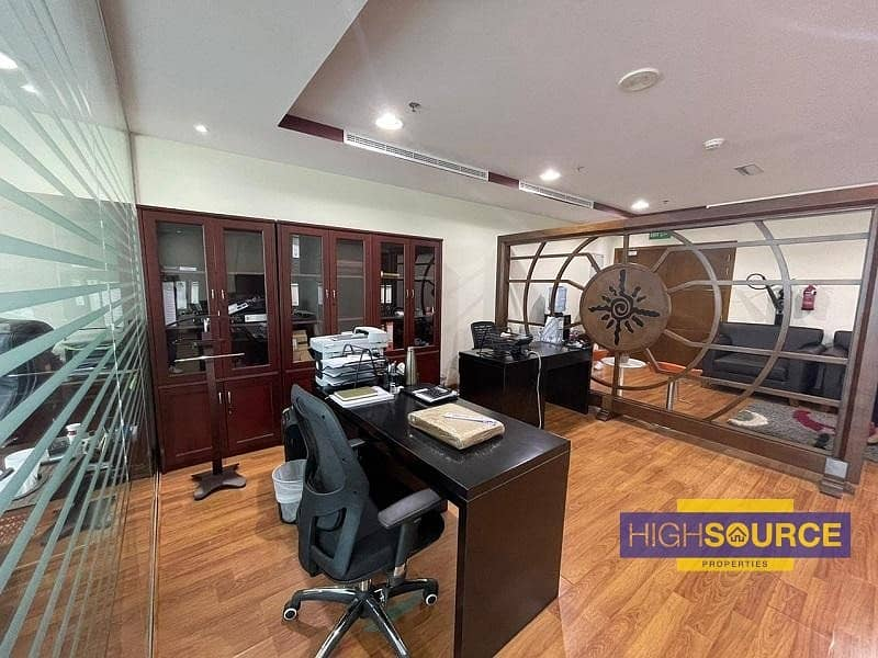 2 Fully fitted large office | amazing view | Near Metro Station |