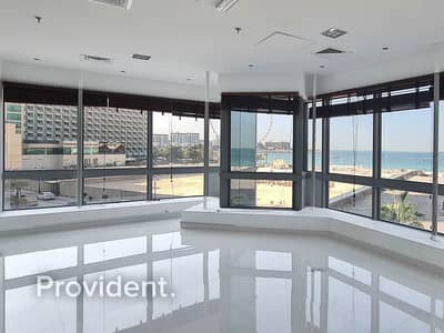 Office for Rent in Jumeirah Beach Residence (JBR), Dubai - Beautiful Office in JBR | Two Stories | Sea View